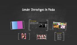 Gender Stereotypes In Media