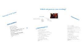 Conceptualizing Teaching Acts by B. Kumaravadivelu