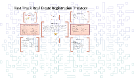 Fast Track Real Estate Registration Trustees
