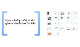 Get into India's top law schools with myLaw.net Test Series