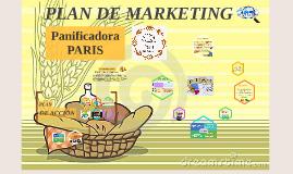 PLAN DE MARKETING - Panificadora PARIS