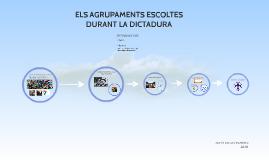 ELS AGRUPAMENTS ESCOLTE DURANT LES DICTADURES
