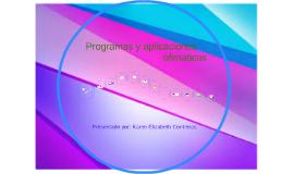 programas aplicaciones de ofimatica-karen elizabeth contreras