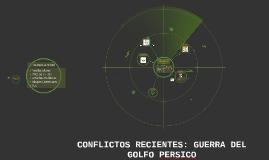 Conflictos Recientes