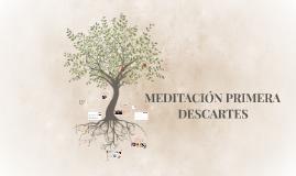 MEDITACION PRIMERA