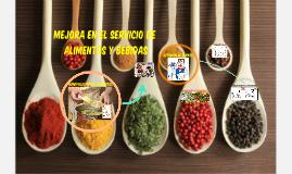 MEJORA EN EL SERVICIO DE ALIMENTOS Y BEBIDAS 2016