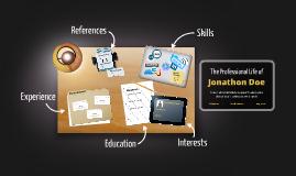 Desktop Prezumé by Johanne Stenstrup