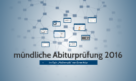 Matrix und Kurvendiskussion