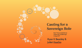 Casting for a Sovereign Role