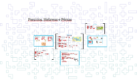 Fenícios, Hebreus e Pérsas