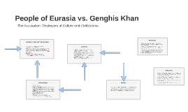 People of Eurasia vs. Genghis Khan