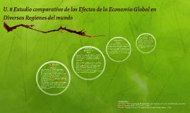 Estudio comparativo de los Efectos de la Economía Global en