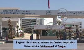 Rapport De Stage Au Niveau De Centre Hospitalier