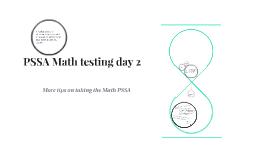 PSSA Math testing day 2