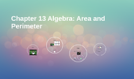 Chapter 13 Algebra: Area and Perimeter