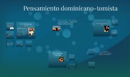 Pensamiento dominicano-tomista