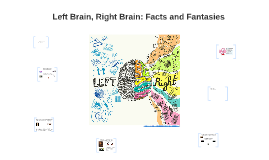 Left Brain, Right Bain: Facts and Fantasies