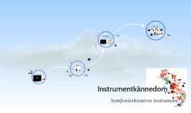 Instrumentkännedom