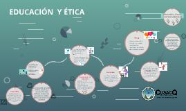 EDUCACIÓN  Y ÉTICA