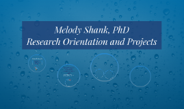 Research Orientation and Projects