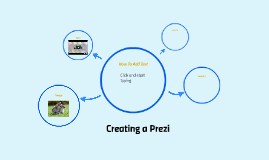 Creating a Prezi