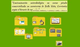 """Copy of Copy of """"Contaminación en carne picada comercializada en carnicerías"""