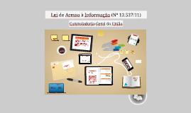 Lei de Acesso à Informação (Nº 12.527/11)