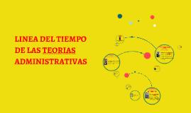 Copy of LINEA DEL TIEMPO DE LAS TEORIAS ADMINISTRATIVAS