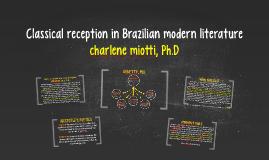 Classical reception in Brazilian modern literature