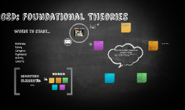 CSD: Foundational Theories