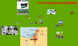Palæstina og Israel konflikten