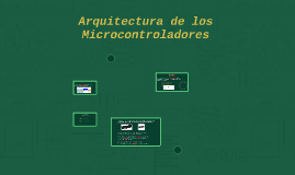 Arquitectura de los Microcontroladores