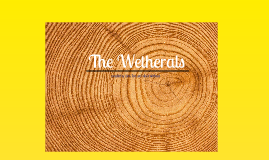 The Wetheral Family History