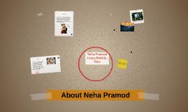 About Neha Pramod
