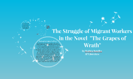 The Stuggle of Migrant Workers