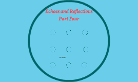 Copy of Echoes and Reflections