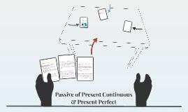 Passive of Present Continuous & Present Perfect