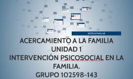 ACERCAMIENTO A LA FAMILIA