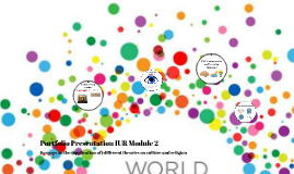 Portfolio Presentation IUR Module 2