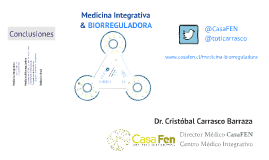 Copy of Presentación Med Biorreguladora - Congreso Nacional ORL 2013
