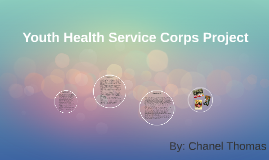 Youth Health Service Corps Project