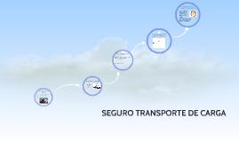 SEGURO TRANSPORTE DE CARGA