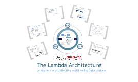 The Lambda Architecture