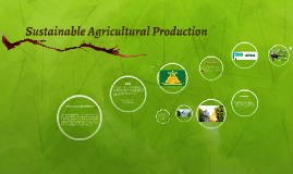 Sustainable Agriculture Production