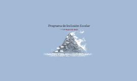 Programa de Inclusión Escolar