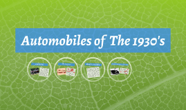 automobiles of the 1903's