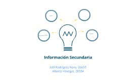 Información secundaria
