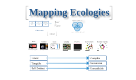 Mapping Ecologies Introduction course
