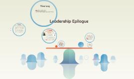 Leadership Epilogue