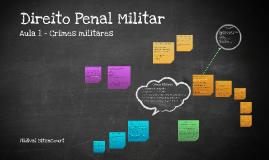 Direito Penal Militar - Aula 1
